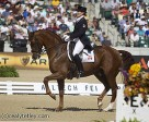 Ashley Holzer and Pop Art qualified for Friday's Grand Prix Freestyle, after placing 11th in the Grand Prix Special at WEG