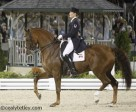 Ashley Holzer of Toronto, ON, riding Pop Art placed eighth in the Freestyle at the 2010 World Equestrian Games