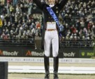 The Netherlands' Edward Gal, who claimed Dressage Freestyle gold at the Alltech FEI World Equestrian Games™ in Kentucky, USA. Photo by: FEI/Dirk Caremans