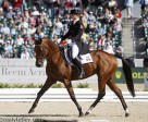 Stephanie Rhodes-Bosch, 22, of Summerland, BC, is the top-ranked member of the Canadian Eventing team following day two of dressage at the 2010 Alltech FEI World Equestrian Games (WEG).