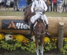 Dressage leaders Michael Jung and La Biosthetique Same from Germany maintained their lead in the Eventing Championship following a superb cross-country round at the Alltech FEI World Equestrian Games™ in Kentucky, USA. Photo by: FEI/Dirk Caremans