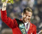 Eric Lamaze earned the individual bronze medal at the 2010 FEI Alltech World Equestrian Games