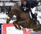 Olympic Champion Eric Lamaze guided Coriana van Klapsheut to victory in the €20,00 Milcon Prix Maastricht, The Netherlands. Photo by Starting Gate Communications