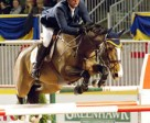 Yann Candele Named 2010 Canadian Show Jumping Champion at the Royal Horse Show. Photo by Cealy Tetley