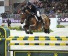 The Netherlands' Jeroen Dubbeldam steered BMC Van Grunsven Simon to victory in the fourth leg of the 2010/2011 Rolex FEI World Cup™ Jumping series in Verona, Italy. Photo by Kit Houghton.