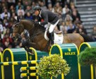 Olympic Champions Eric Lamaze and Hickstead finished second in the €200,000 Rolex World Cup Grand Prix on Sunday, December 12, at CSI5*-W Geneva, Switzerland. Photo courtesy of Rolex