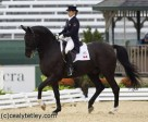 Cindy Ishoy, the owner of Proton ridden by Victoria Winter at the 2010 World Equestrian Games, has been named as the 2010 Dressage Canada Owner of the Year. Photo Cealy Tetley