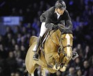 Olympic Champion Eric Lamaze and Coriana van Kalpscheut won the €50,000 Le Figaro Prix on December 3, at the CSI5* Gucci Masters show jumping tournament in Paris, France. Photo by Hippo Foto