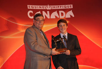 Ben Asselin Named 2010 Equine Canada Junior Equestrian Of