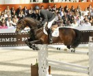Olympic Champions Eric Lamaze and Hickstead won the €100,000 Le Saut Hermès on April 16, 2011, at the CSI5* Paris Horse Show in France. Photo by F. Chehu
