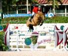 Celena Z, pictured here with Keean White, has been sold to Elm Rock LLC for U.S. Equestrian Team member, Margie Engle.