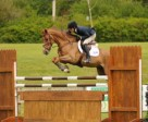 Incognito, ridden by Nicole Simpson for owner Zeidler Farm, won the Six-Year-Old Division of the Jump Canada Young Horse Series held May 25 to 29 at Thunderbird Show Park in Langley, BC. Photo by Totem Photographics