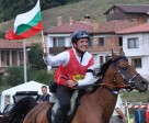 Individual champion, Bulgaria's Miroslav Borshosh, celebrates his gold medal winning performance with Munir B at the FEI Balkan Endurance Championships 2011 at Koprivshtitsa in Bulgarian last weekend.  The partnership also took the Best Condition award. Photo by FEI/Radostina Genova.