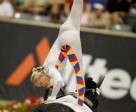 Vaulting star Joanne Eccles (GBR), reigning Individual World and European Champion. Photo by Dirk Caremans/FEI