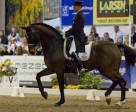 Steffen Peters rode Ravel to his second consecutive Exquis Grand Prix Freestyle win at the World Dressage Masters.