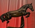 Equine Canada unveiled the new Horse of the Year Award, with the first recipient being Hickstead. Photo by Robert Young