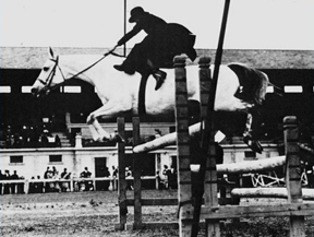 Sidesaddle jumping 1912