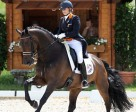 Dana van Lierop and DJ Tiesto secured a golden hat-trick for The Netherlands at the 2012 FEI European Dressage Championships for Young Riders and Juniors, which drew to a close in Berne, Switzerland. Photo by FEI/Valeria Streun.
