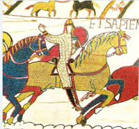 The famous Bayeux Tapestry