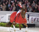Defending champions, Adelinde Cornelissen and Jerich Parzival, will be striving for their third consecutive Reem Acra FEI World Cup™ Dressage title in the 2012/2013 series which begins at Odense, Denmark. Photo by Kit Houghton/FEI