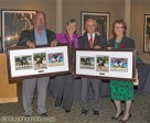 """Dressage Canada is pleased to announce that Mary and Eric Brooks and Anne and John Welch have been named as the 2011 Dressage Canada Owner(s) of the Year."""" (photo left to right- Eric Brooks, Mary Brooks, John Welch and Anne Welch). Photo by Cealy Tetley, www.cealytetley.com"""