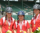 Jessica Yarvis, Emma Webb and Lee Hutten claimed the gold medal in Enduarance at last year's event.