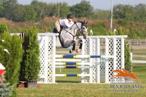 Evan Phinney and Bling, August 2013 in Orangeville, ON.