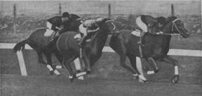 Phar Lap winning The Melbourne Cup