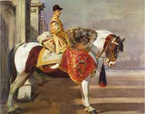 Paddy II: Painting by Sir Alfred Munnings
