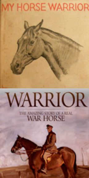 The 1934 version (top) and the 2011 book (bottom).