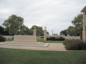 Canadian cemetery.