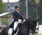 David Marcus and Chrevi's Capital placed second in the Grand Prix at CDI3* Verden, Germany, on July 9, scoring a personal best of 72.30%.  Photo by © www.eurodressage.com