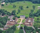 Haras du Pin, venue for the Dressage and Cross-Country phases of Eventing during the forthcoming Alltech FEI World Equestrian Games™ 2014. Photo by FEI/Conseil general de l'Orne