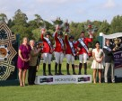 The US team won the Furusiyya FEI Nations Cup™ of Great Britain, held at the All England Jumping Course, Hickstead.Photo by Samantha Lamb
