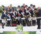 """Parabéns"" - Great Britain, The Netherlands and Germany score their Rio 2016 Paralympic Games team spots at the Alltech FEI World Equestrian Games™ 2014. Photo by Jon Stroud/FEI"