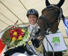 Italy's Sara Morganti has been voted the International Paralympic Committee's best female Allianz Athlete of the Month for August following her incredible performance at the Alltech FEI World Equestrian Games™ 2014 in Normandy (FRA) - she is pictured at these Games with her mare Royal Delight. Photo by FEI/David Sinclair