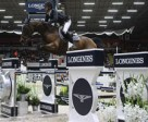 Swiss riders filled the top three placings at today's leg of the Longines FEI World Cup™ Jumping 2014/2015 Western European League series at Helsinki in Finland led by Olympic champions Steve Guerdat and Nino des Buissonnets. Photo by FEI/Tapio Maenpaa