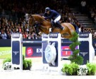 Reigning FEI European champion, Roger Yves Bost from France, steered Qoud'Coeur de la Loge to victory on home turf at the third leg of the Longines FEI World Cup™ Jumping 2014/2015 Western European League series in Lyon, France. Photo by FEI/Pierre Costabadie