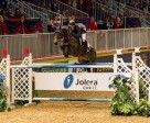 McLain Ward (Brewster, NY) took top honours in the $34,000 Jolera International Jumper class at the CSI4*-W Toronto, The Royal Horse Show, with Double H Farm's HH Carlos Z. Photo by BenRadvanyi.com