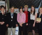 The Ontario Equestrian Federation recognized four equestrians for their contributions to the sport with a special awards ceremony that took place yesterday at the Royal Agricultural Winter Fair.