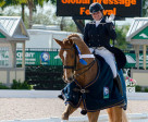 Tanya Strasser-Shostak and Action Tyme were the 2014 Overall Florida International Youth Dressage Champions. Photo by Susan J. Stickle