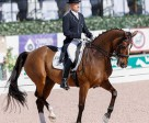 """Lars Petersen and Mariett won the """"Friday Night Stars"""" FEI Grand Prix Freestyle class at the Adequan® Global Dressage Festival. Photo by SusanJStickle.com"""