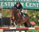 Julie Welles and Twan at WEF this year. Photo by The Book