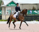 Chris Von Martels and Zilverstar were second in the FEI Intermediaire 1 CDIO3*. Photo by SusanJStickle.com