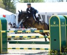 Germany's Michael Jung took first and third place in the Rolex Kentucky Three Day Event. Photo courtesy of Rolex
