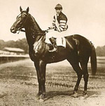 The mighty Man o' War graced Pimlico with his presence and a win in the 1920 Preakness Stakes.