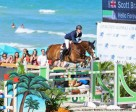 Scott Brash and Hello Forever won the 127,500 American Invitational at Longines GCT Miami Beach. Photo by Emily Riden/PMG