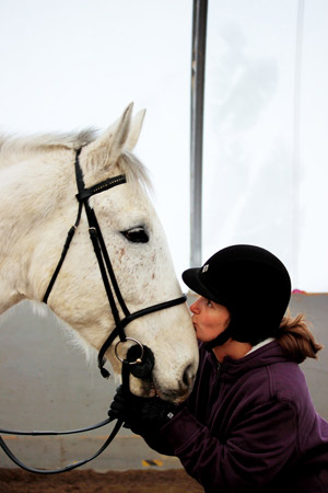 You can't help but love this amazing horse.