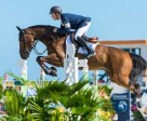 Scott Brash (GBR), pictured here at the Miami Beach 2015 CSI5* on Hello Sanctos, is back as world Jumping number one at the top of the Longines Rankings. Photo by FEI/Amy Dragoo-arnd.nl