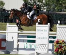 Beezie Madden and Simon won the $34,000 Duncan Ross Cup at the Spruce Meadows Canada One. Photo by Spruce Meadows Media Services